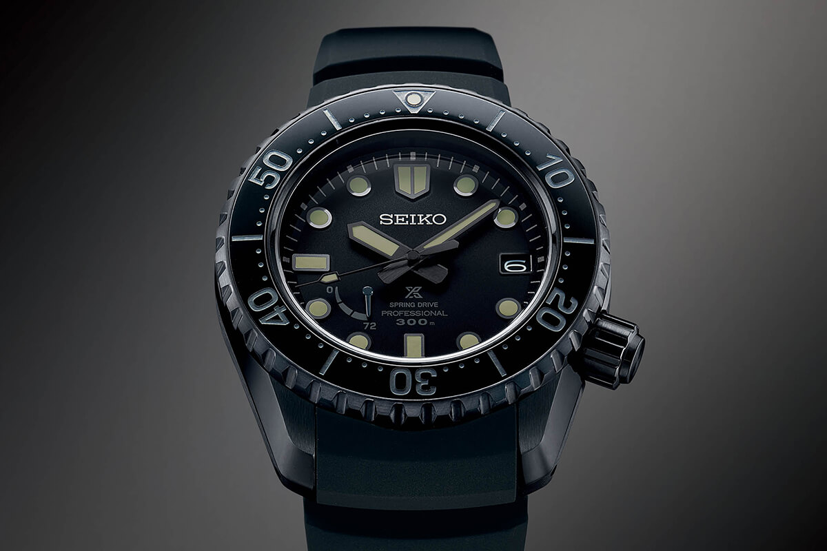 GMT Seiko Prospex LX GMT Black Edition