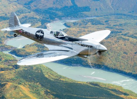 IWC Silver Spitfire's Round-the-World Flight