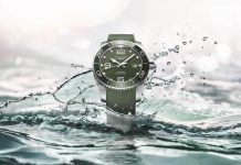 Longines HydroConquest Green Watch