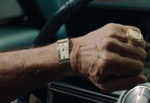 The Irishman Robert de Niro's Mathey-Tissot Watch