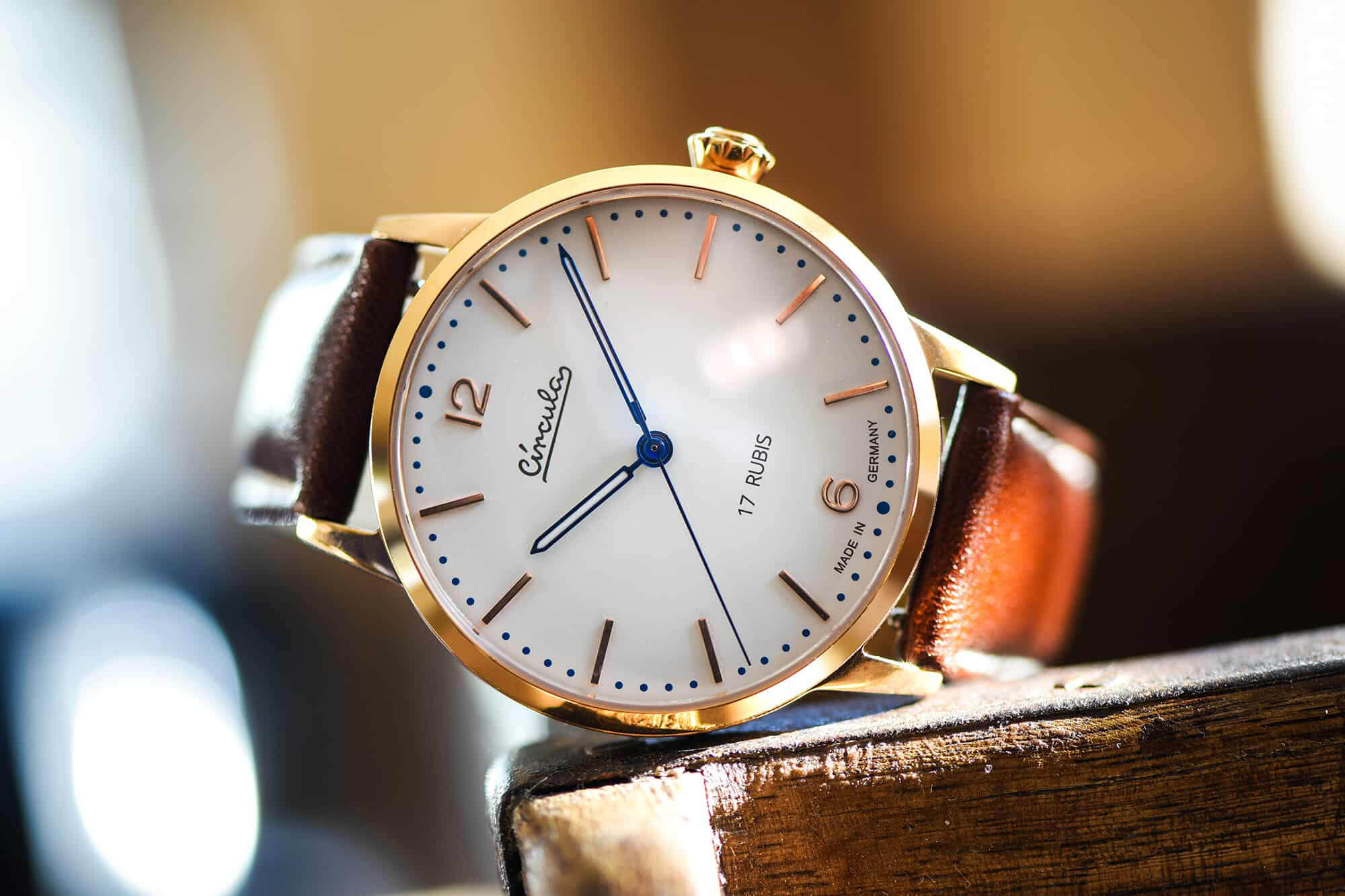 Circula Heritage Hand-Wound Watch