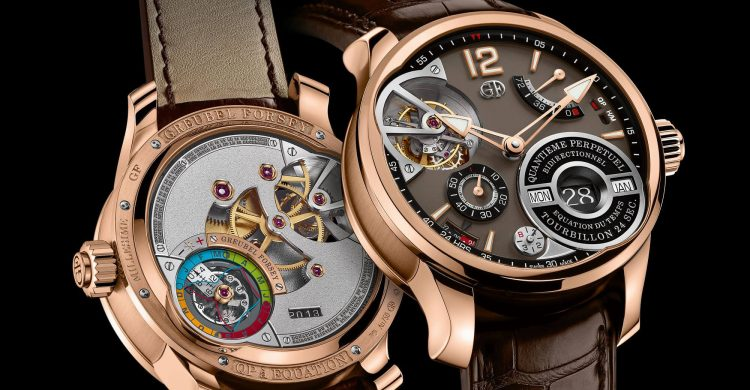 Greubel Forsey QP à Équation Watch with Chocolate Dial