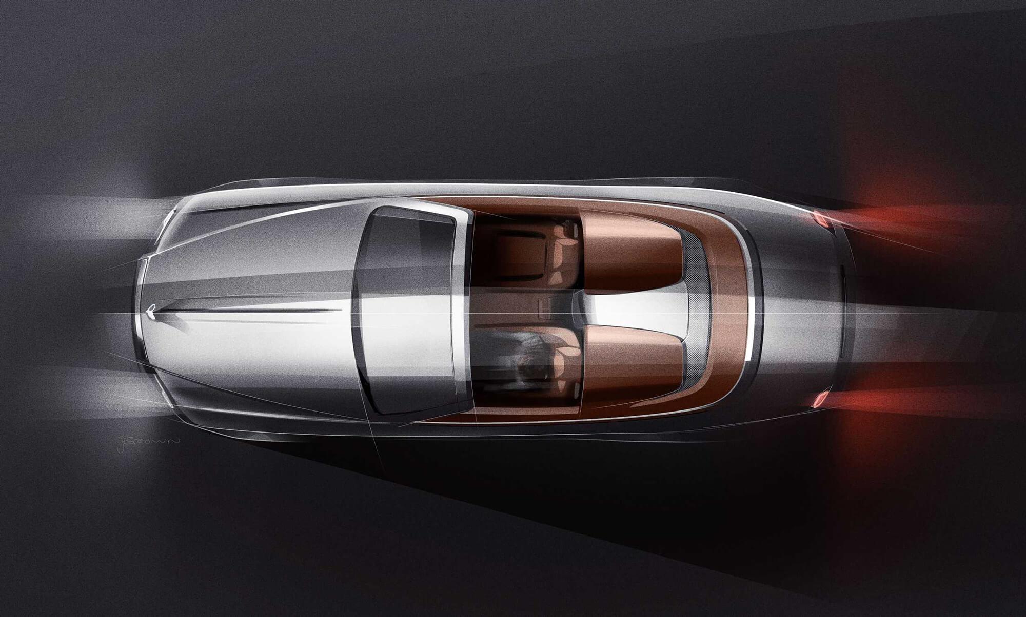Rolls-Royce Dawn Silver Bullet