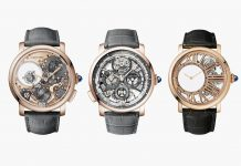 Cartier Fine Watchmaking Collection Rotonde de Cartier Trio