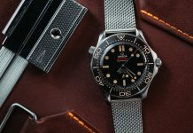 "Omega Seamaster Diver 300M 007 ""No Time to Die"" Edition"