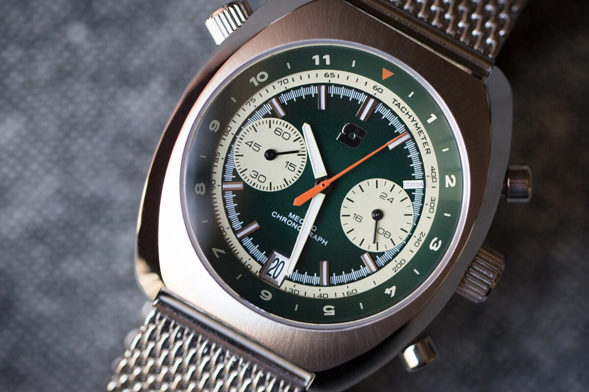Straton Watch Co. Curve Chrono