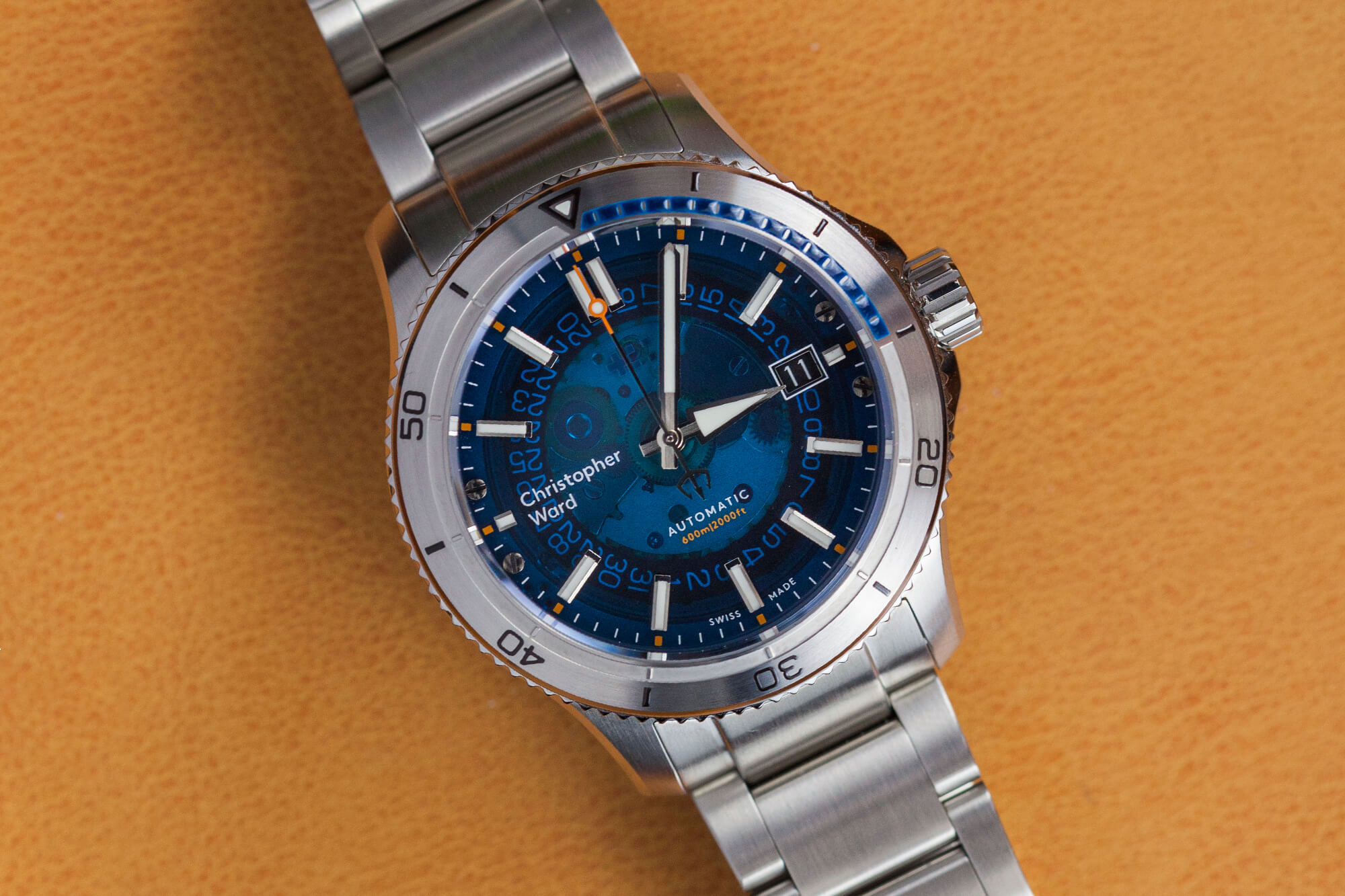 Christopher Ward C60 Sapphire Watch Review Oracle Time