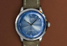 Glashütte Original Sixties Glacier Blue