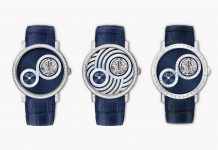 Piaget Altiplano Tourbillon Infinite Blue Collection