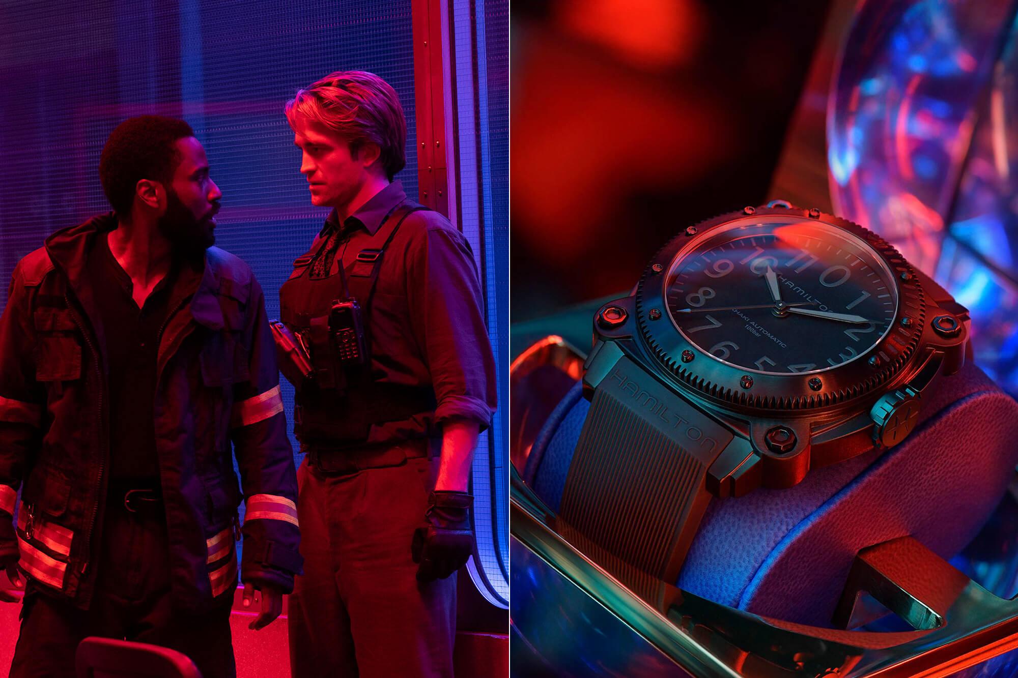 Movie Watch The Hamilton Limited Edition Khaki Navy Belowzero In Tenet 2020 Oracle Time