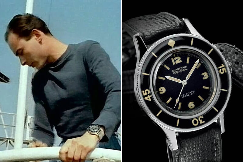 Jacques Cousteau Blancpain Fifty Fathoms