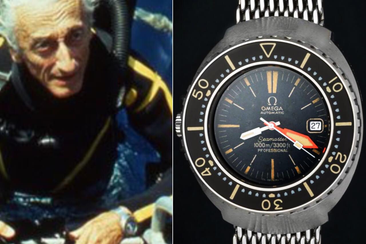 Jacques Cousteau Omega Seamaster