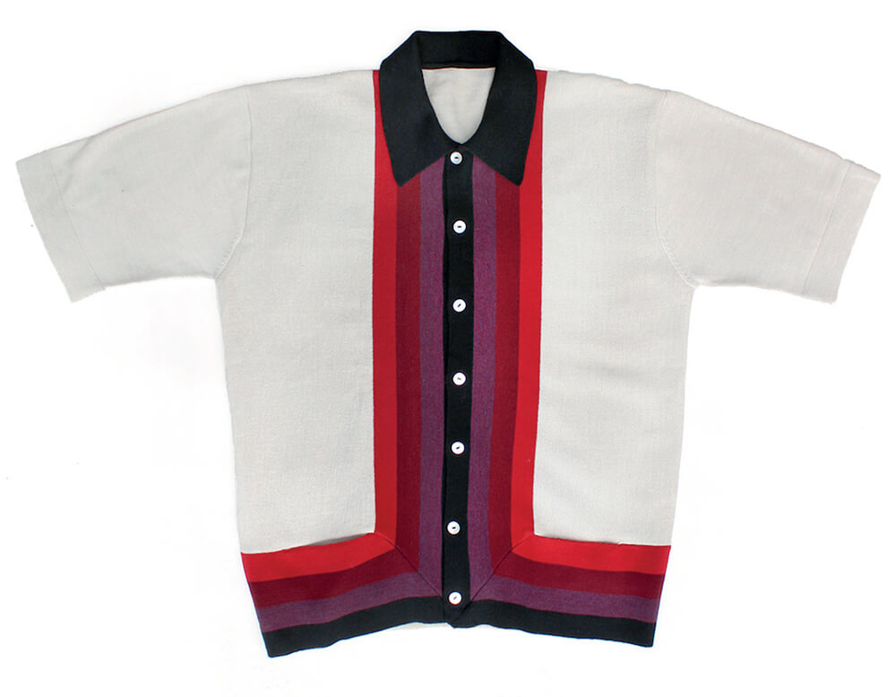 Scott Fraser Collection L-Stripe Knit Shirt