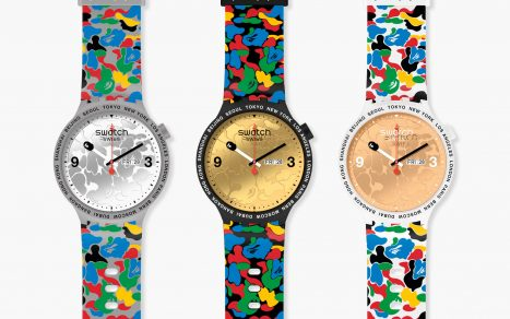 Swatch X Bape Tokyo Multi Camo Limited Editions
