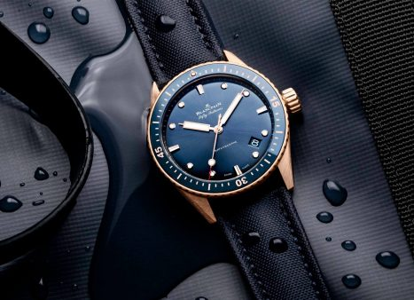 Blancpain Fifty Fathoms Bathyscaphe in Sedna Gold