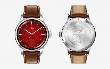 New Startup Tribus Becomes Liverpool FC's Official Wristwatch Partner