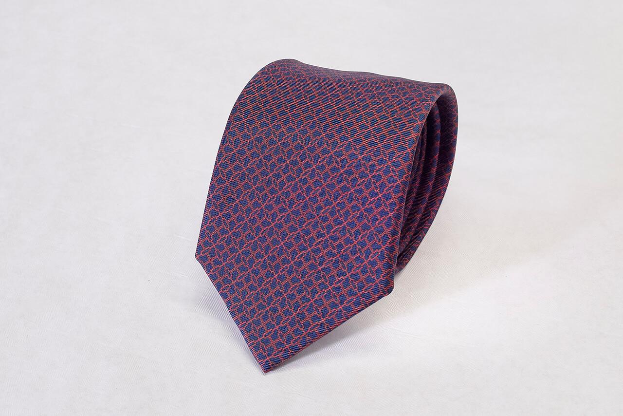 Adinkra London NSAA Hand Finished Silk Tie