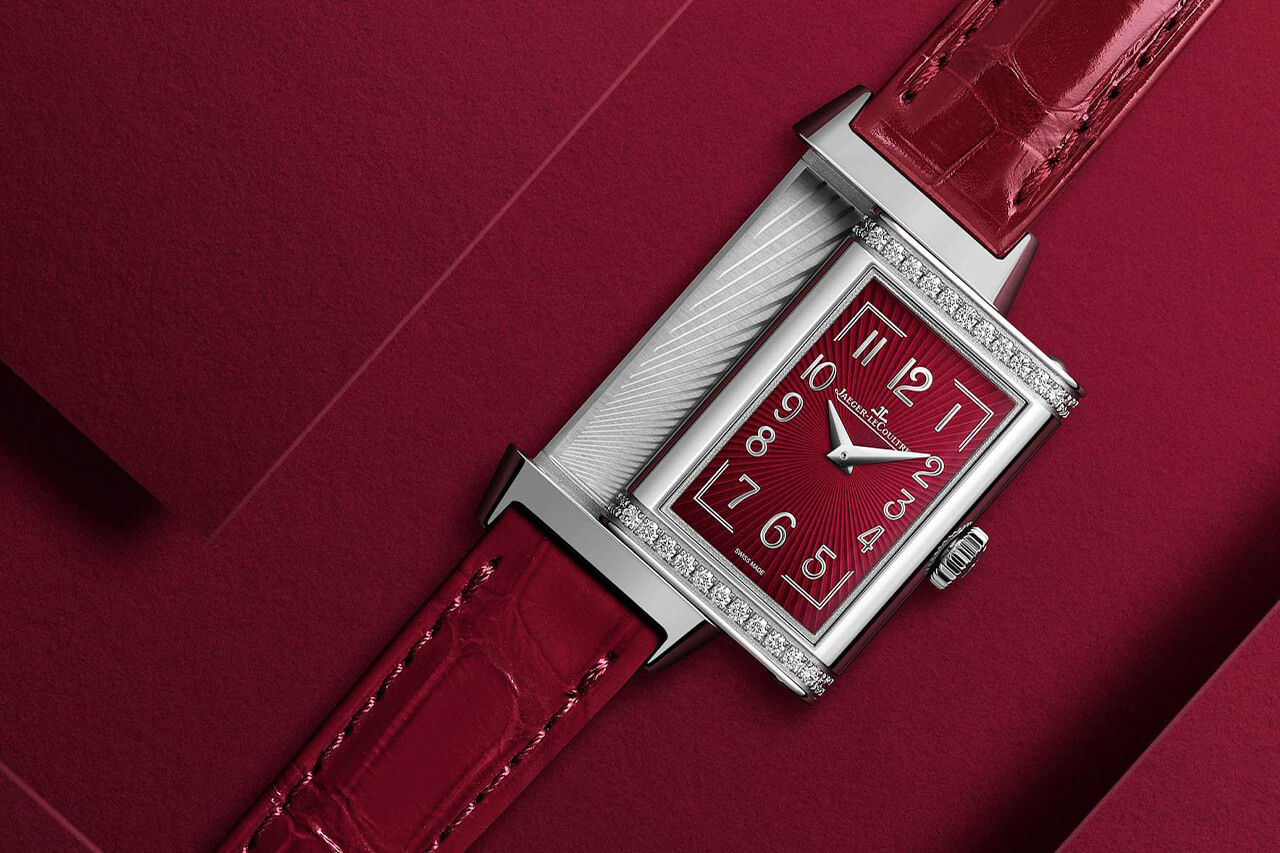 Jaeger LeCoultre Reverso One red