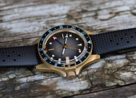 Yema Superman GMT Bronze Black dial featured