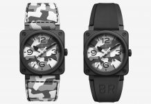 Bell & Ross BR 03-92 White Camo featured