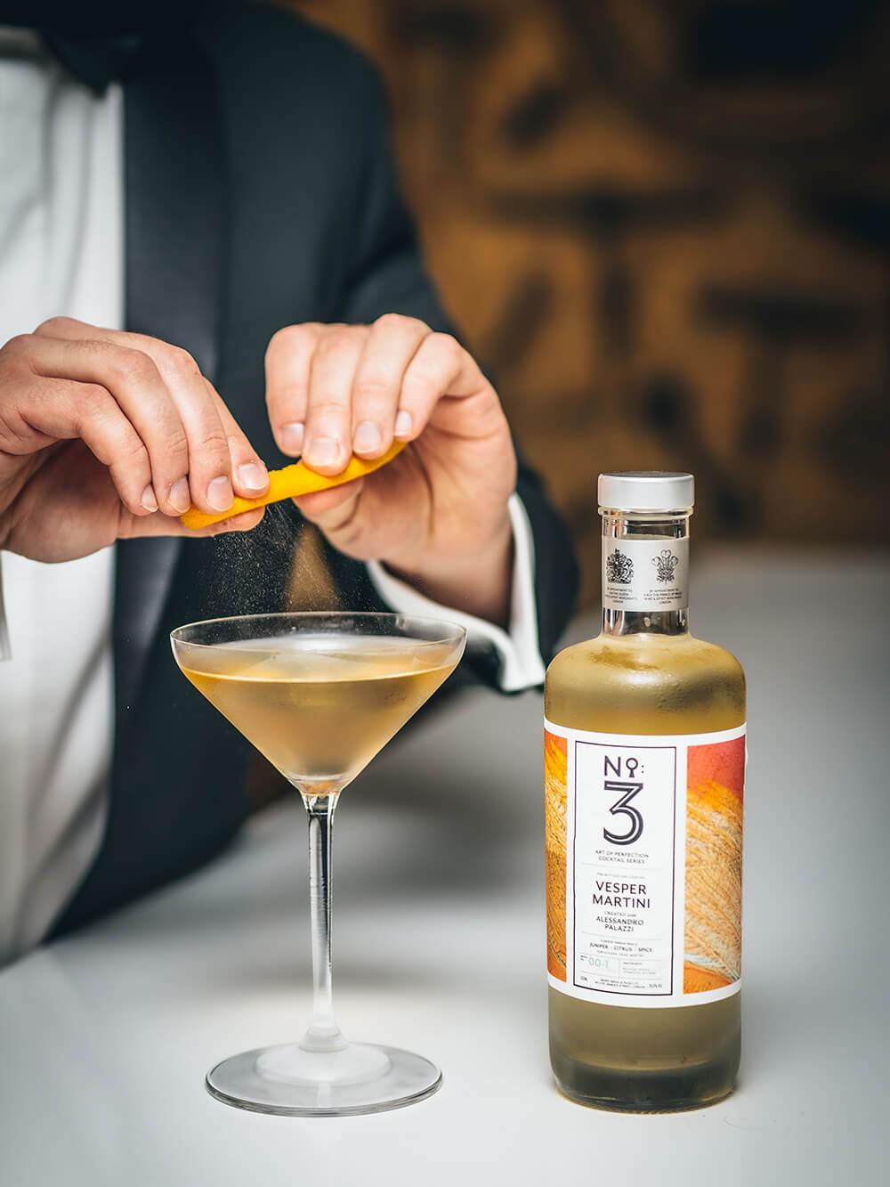 No.3 Vesper Martini