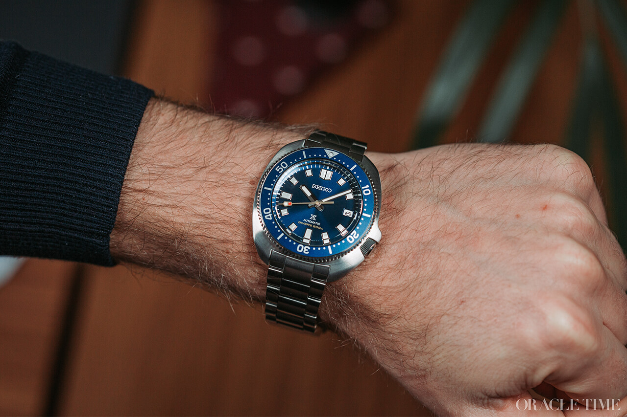 Seiko Prospex 55th Anniversary Captain Willard Limited Edition Spb183j1 Watch Review Oracle Time