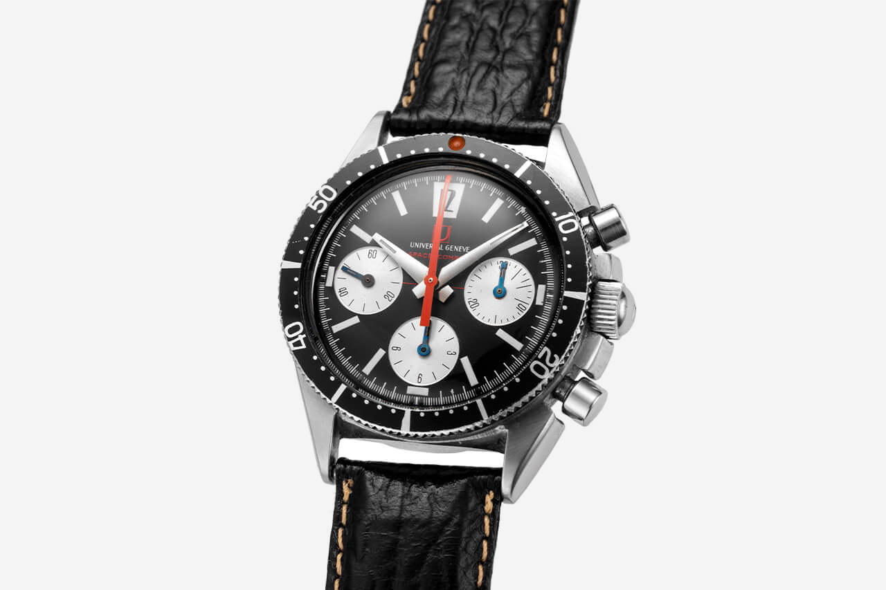 Universal Geneve Space Compax Watch