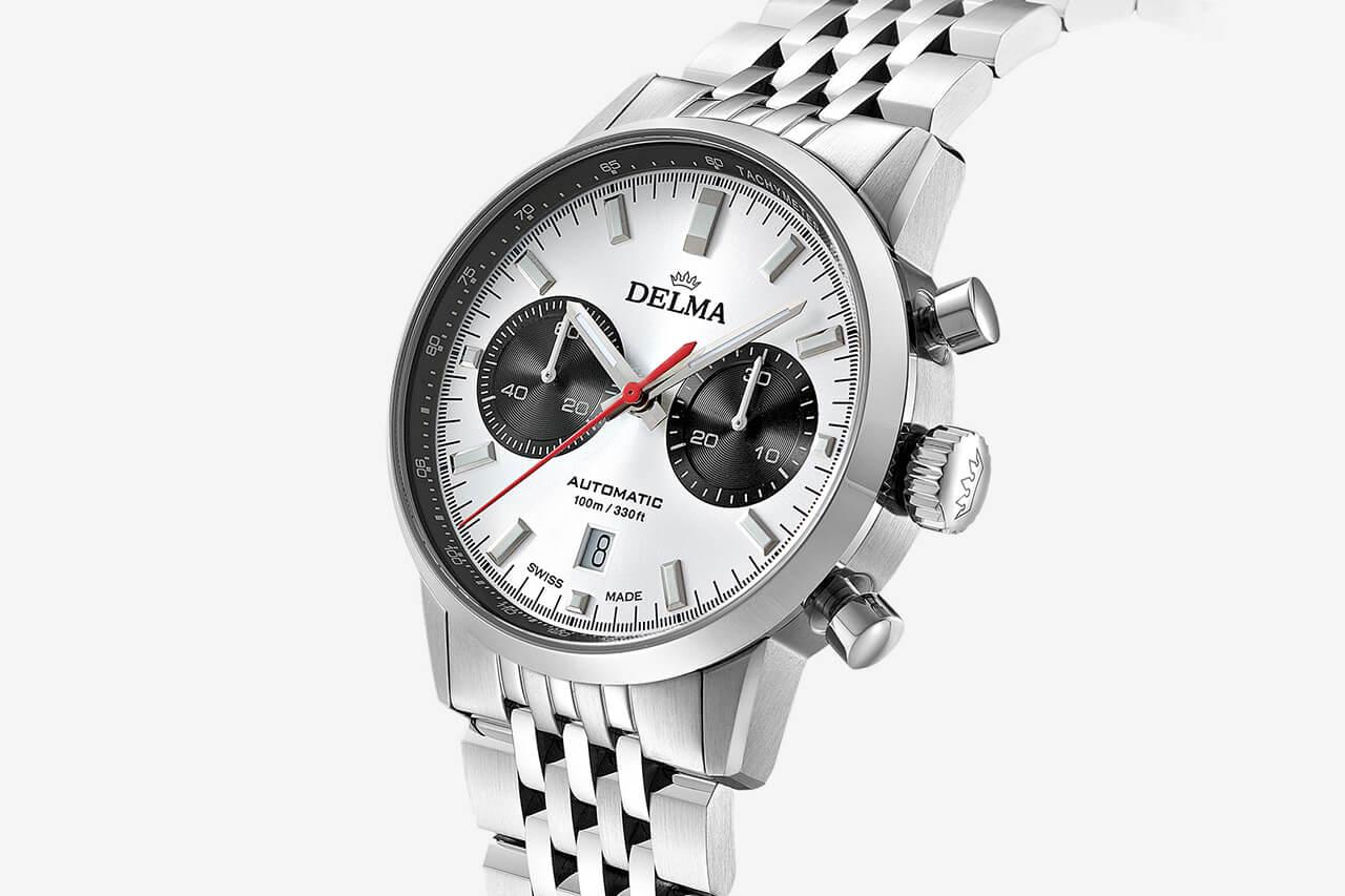 Delma Continental Bi-Compax Chronograph Automatic