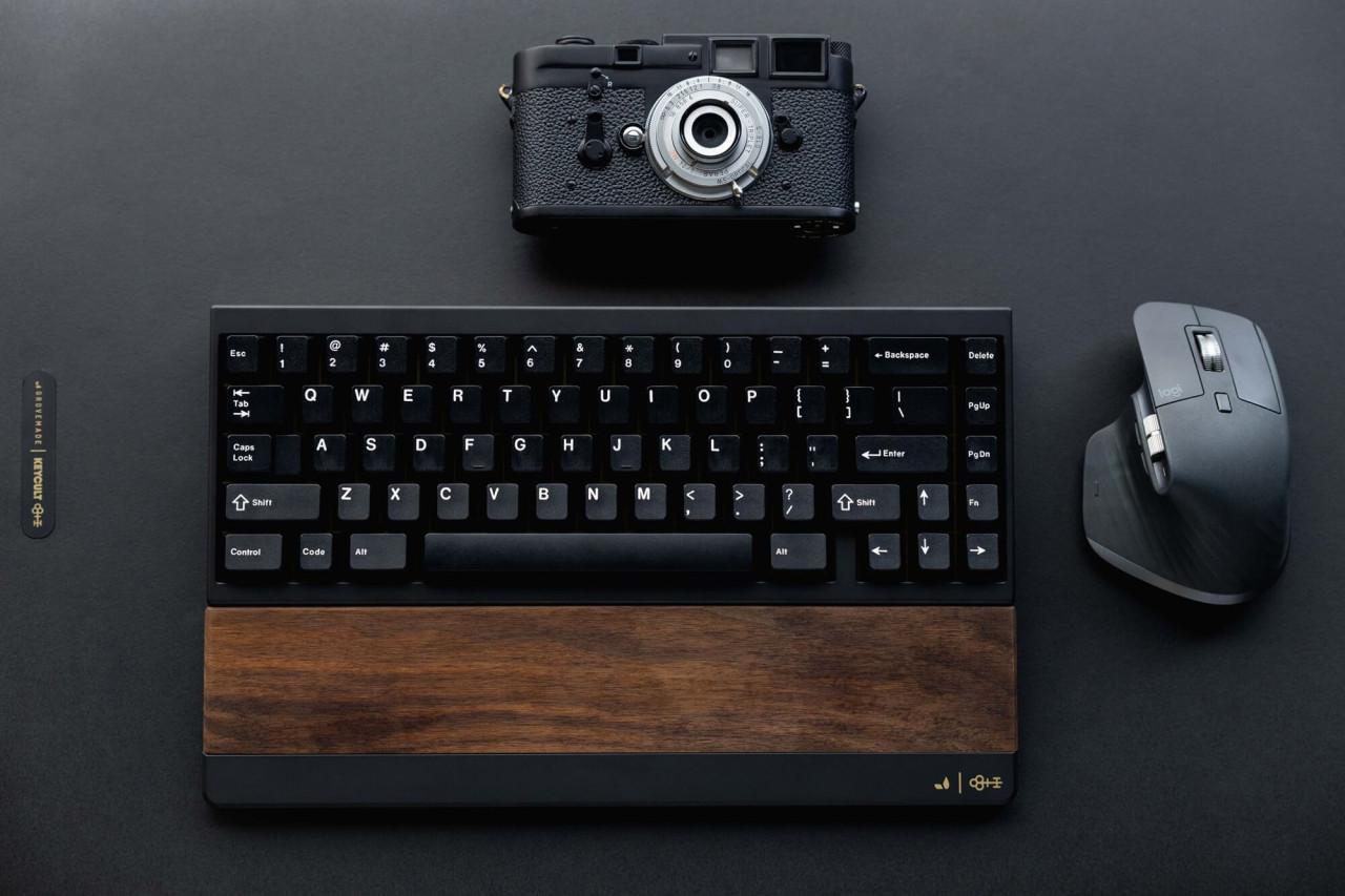 Taeha Types Bespoke Keyboard