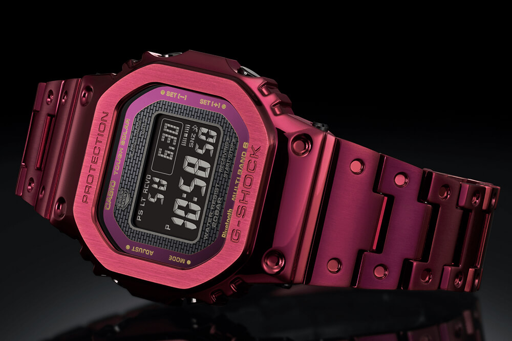Casio G-Shock Red Ion Plated Full Metal Limited Edition