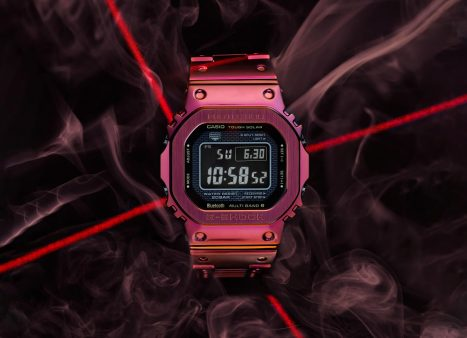 G-SHOCK's Limited Edition Red Ion Plated Full Metal