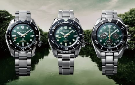 Green Seiko Prospex Divers 140th Anniversary Limited Editions