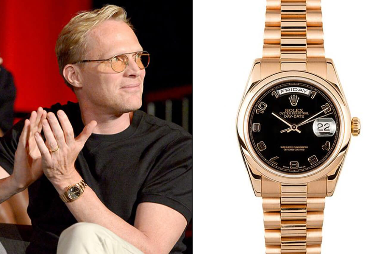 Paul Bettany rolex