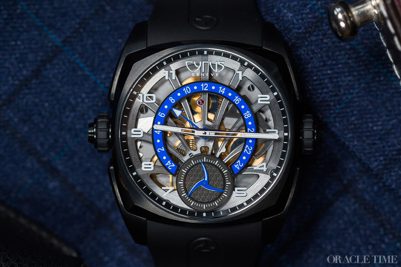 yrus Klepcys GMT Retrograde