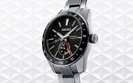 Seiko Presage Sharp Edged GMT Series