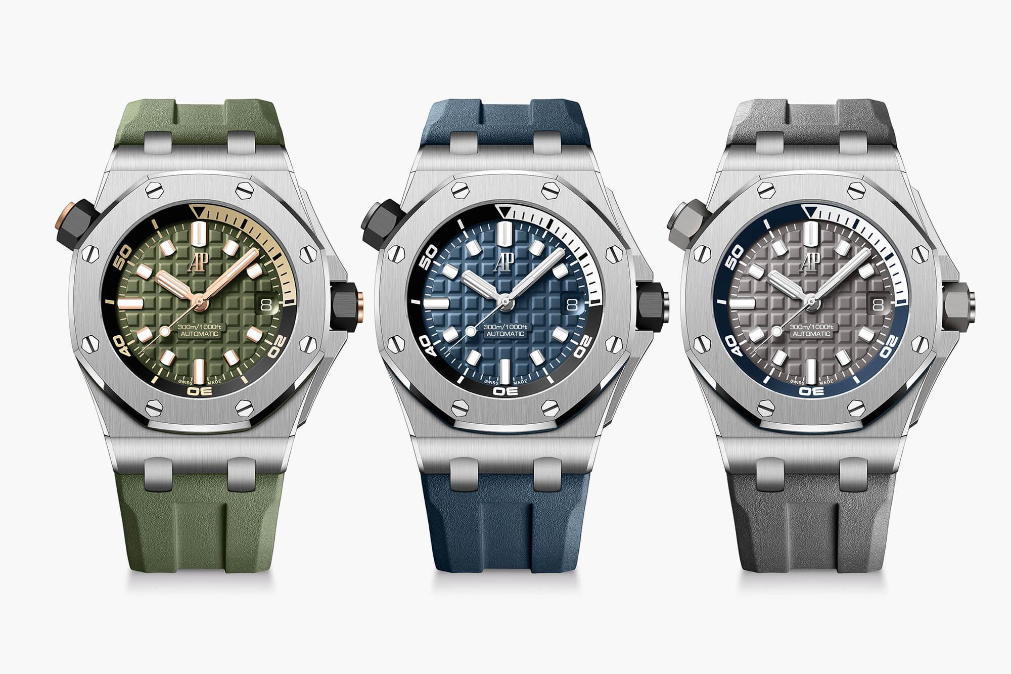 Introducing: Audemars Piguet Royal Oak Offshore Diver 2021 Collection -  Oracle Time