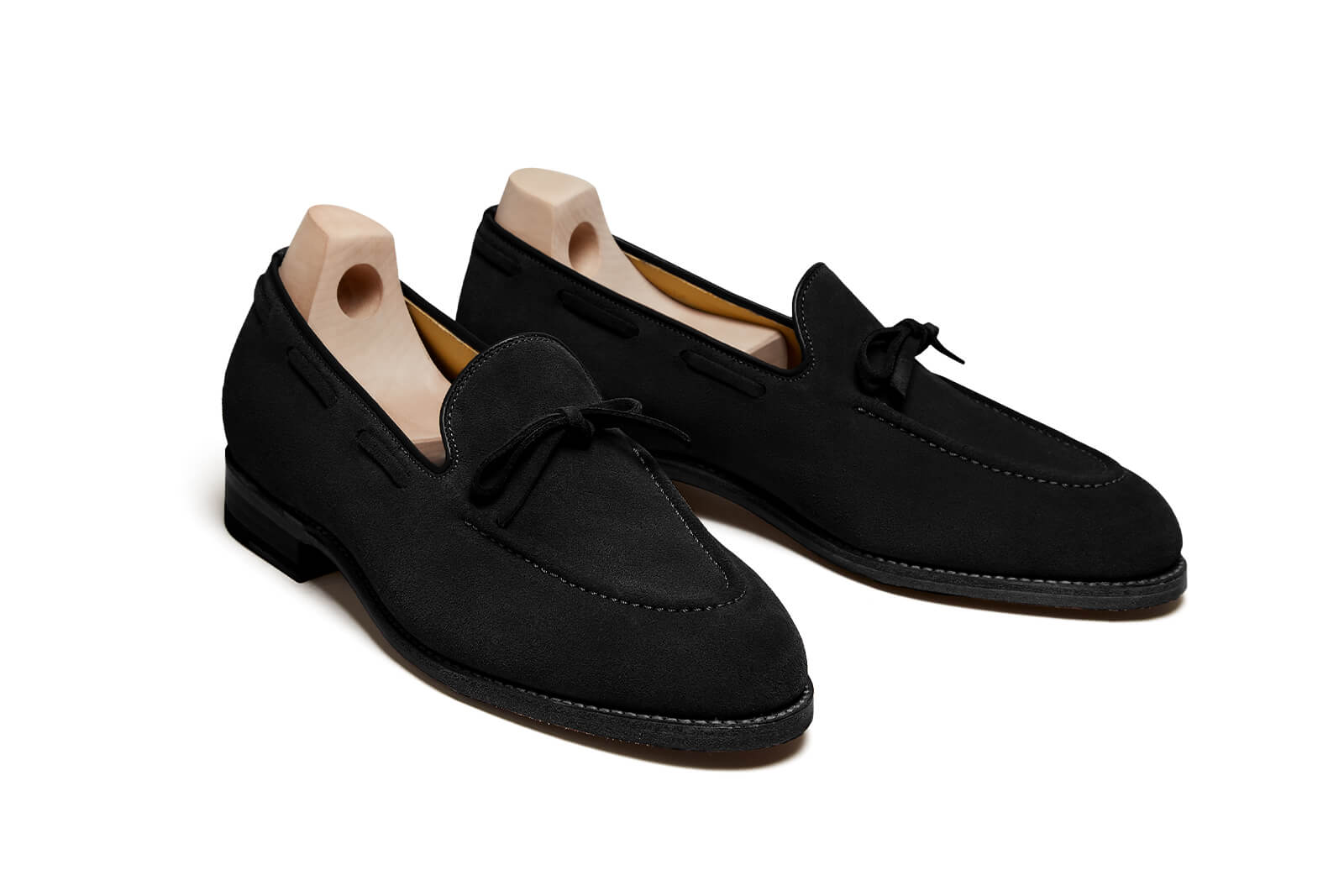 Fårö Black Suede Loafer