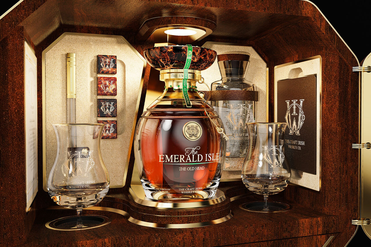 The Craft Irish Whiskey Co Emerald Isle Collection