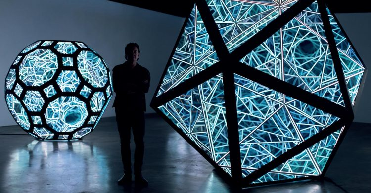 Futuristic 'Constellations' Artworks Transform Oxford Street