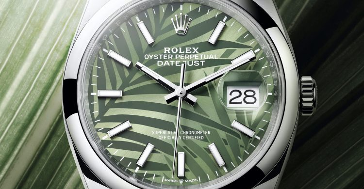 Rolex Datejust 36 Oystersteel Olive Green
