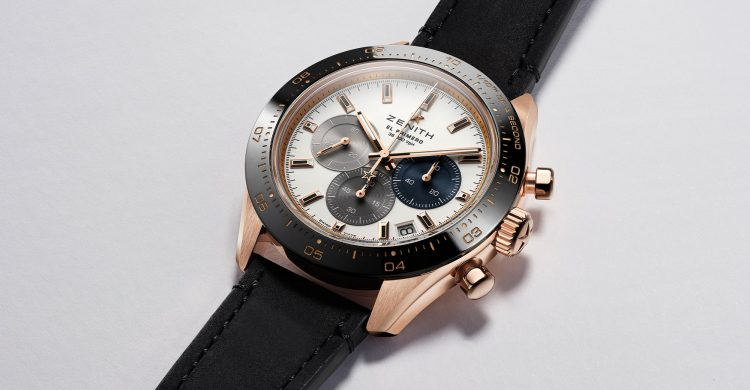 Zenith Chronomaster Sport in Rose Gold