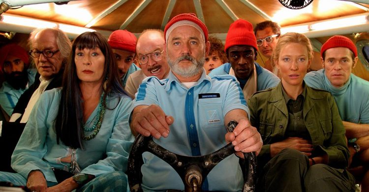 In The Life Aquatic with Steve Zissou