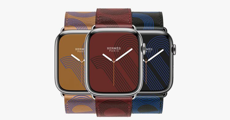 Hermès Announce New Straps for Apple Watch Series 7