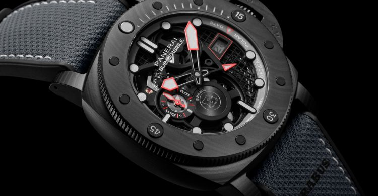 Panerai's First Skeletonised Automatic Movement