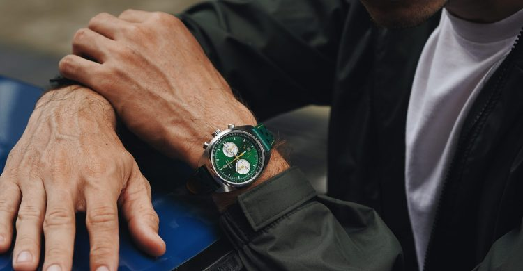 Soldat Automatic Chronograph Green Forty Nine